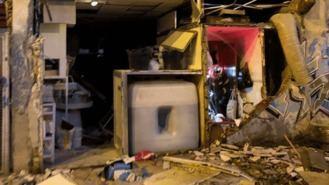 Cuatro heridos, entre ellos una niña de 9 años, en la deflagración de un local comercial