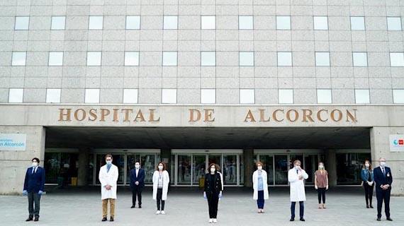 El 31% de los trabajadores del Hospital de Alcorcón dan positivo por coronavirus