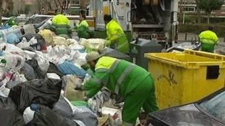 El TSJM avala la intervención de Tragsa durante la huelga de basuras de 2014