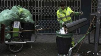 Arranca la huelga de las basuras: La recogida será cada dos días