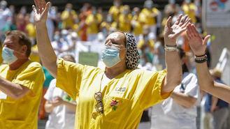 Arranca la huelga de los trabajadores de la limpieza del Marañón