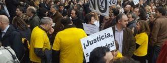 Jueces y fiscales presionan a Delgado con una huelga general el 19-N