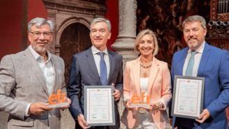 Ibercaja obtiene el certificado efr por su compromiso con el bienestar de sus empleados