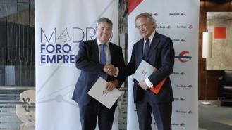 Ibercaja renueva el acuerdo de colaboración con Madrid Foro Empresarial