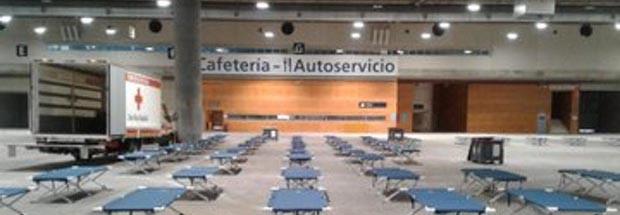 Madrid pide que la UME gestione el espacio para los `sin techo´ en Ifema