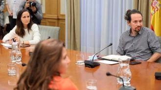 UP vuelve a presionar al PSOE para que la Ley de Vivienda prohiba los desahucio a vulnerables