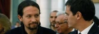 Cataluña; La vía de agua de Podemos y la bicoca de Ciudadanos