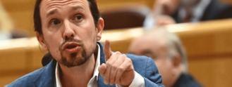 Iglesias se querella por seis delitos contra el 'instigador' de las protestas frente a su casa