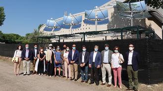 Partida inaugura la planta de concentraciones solares de última generación