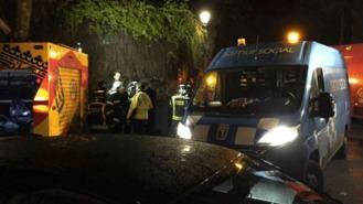 Ocho personas hospitalizadas tras el incendio de una residencia en Aravaca