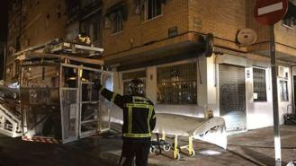 Dos mujeres heridas graves en el incendio de un bloque de 16 pisos en Parla