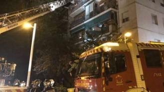 Las 30 personas desalojadas por el incendio en la calle Salvador vuelven a sus casas