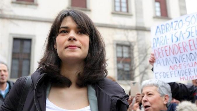 Isa Serra dice que su sentencia es 'injusta' y que el CGPJ está 'politizado'