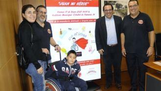 `Juan mi héroe´, festival benéfico a favor de un niño afectado por el CDG