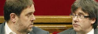 Dos camas políticas para un matrimonio a tres en Cataluña