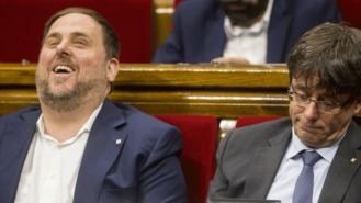 Los catalanes aprueban a Junqueras y suspenden a Puigdemont: ERC ganaría las elecciones