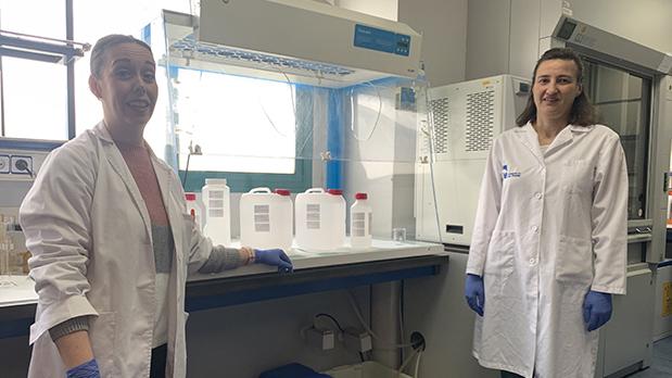 El Laboratorio Municipal comienza a producir gel hidroalcohólico
