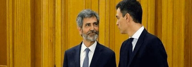 La batalla judicial exige que Sánchez y Casado firmen la paz