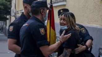 Fiscal pide 7 meses para la líder de HSM por irrumpir en la sede del PSOE