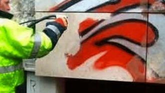 La eliminación de grafitis costó al Ayuntamiento 65.000 € el pasado año