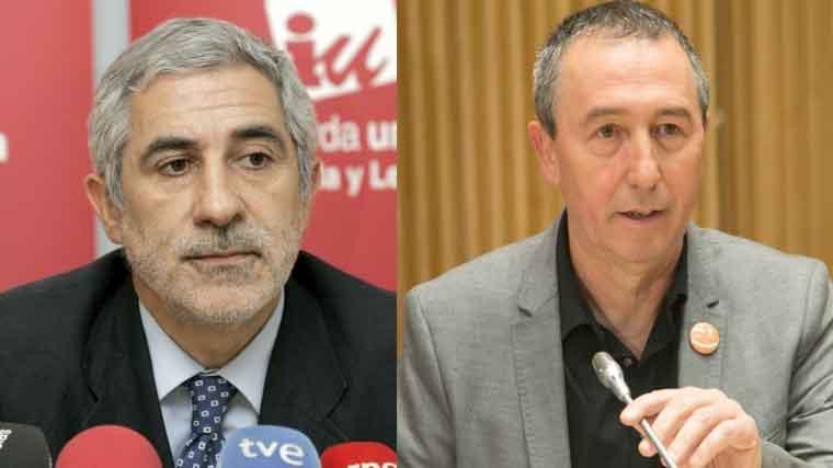 Baldoví y Llamazares suscriben un manifiesto por un gobierno PSOE, Unidos Podemos y C´s