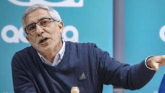 Llamazares presenta a la candidta a las municiples de Actúa, una exidirigente de IU