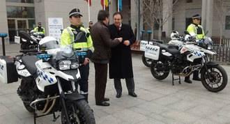 La Comunidad dota con ocho nuevas motos a la policía local