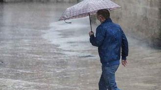 Fuertes tormentas en el Oeste de la región y temperaturas en aumento