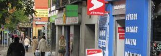 Más Madrid pide una moratoria en las licencias de locales de apuestas