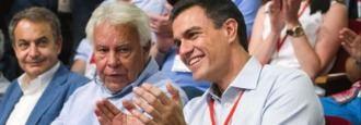 La guerra de las rosas de Felipe y ZP por influir en Sánchez