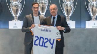 Lucas Vázquez renueva por el Madrid hasta el 30 de junio de 2024