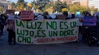 Más Madrid acusa a Almeida de no hacer nada por familias de la Cañada: Su salud 'es preocupante'