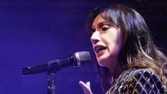 Luz Casal, en el Concierto Benéfico de Reyes del Teatro Real