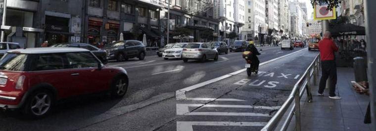 El 85% de las calles de Madrid, a 30 km/h