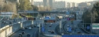 Madrid limitará la velocidad a 70 Km/h en la M-30 y la circulación a los contaminantes