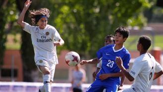 Niños de todo el mundo se dan cita en la Madrid Football Cup 2019, en Alcobendas