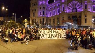 Los patinadores vuelven a manifestarse para exigir una 'alternativa de movilidad'