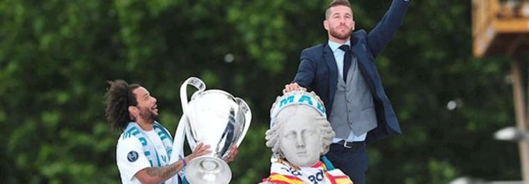 Madrid `blindará´Cibeles con perímetros y controles por La Liga