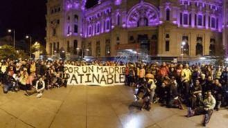 Patinadores se manifiestan para que se autorice la 'Madrid Friday Night Skate'