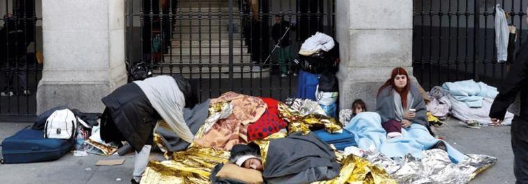 Madrid ha recibido 35.000 refugiados en lo que va de año