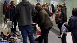 Rollán pide colaboración poilicial para acabar con la proliferación de `manteros´en el Metro