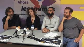 Marcha nocturna de Atocha a Leganés para pedir el cambio de cabecera de los `buhos´