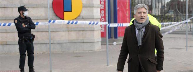 Marlaska espera 'alzar algunas medidas' del confinamiento el 12 de abril
