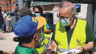 La Asociación de Mayores repartirá 15.000 mascarillas en el barrio más afectado