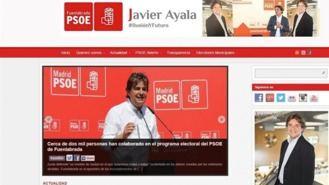 Errejón denuncia en la Junta Electoral al PSOE por la web másfuenlabrada.es