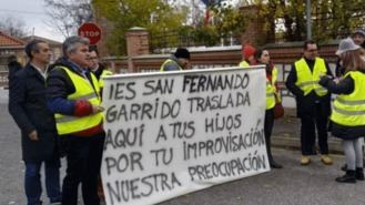 El TSJM rechaza paralizar el trasado de MENAS al IES de San Fernando