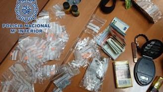 Detenida una menor que traficaba con varios tipos de droga en El Retiro