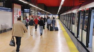Primera jornada de huelga de maquinistas de Metro sin incidencias