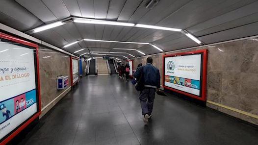 Metro clausura este sábado 44 vestíbulos y183 accesos para 'minimizar riesgos'