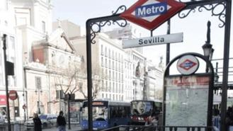La estación Sevilla del Metro cerrada desde este lunes por obras